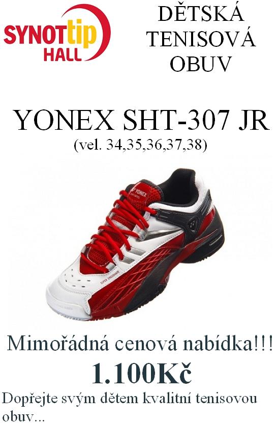 cac241afb55 Dětská tenisová obuv YONEX Synot TIP HALL